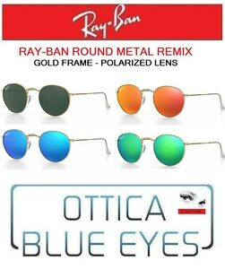 ray ban 3447 round metal polarized