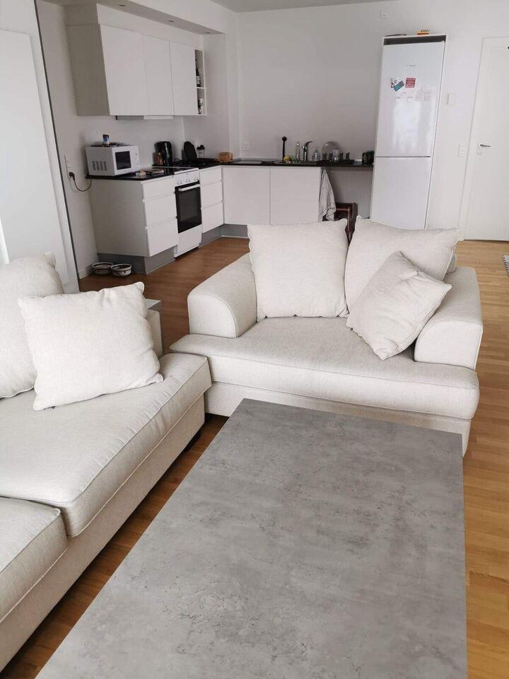 Sofagruppe, andet materiale, anden størrelse
