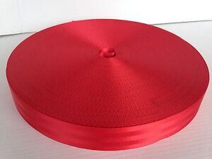 Sicherheitsgurt-48-mm-rot-Meterware-2900-daN-Polyester-Gurt-Band-Autogurt