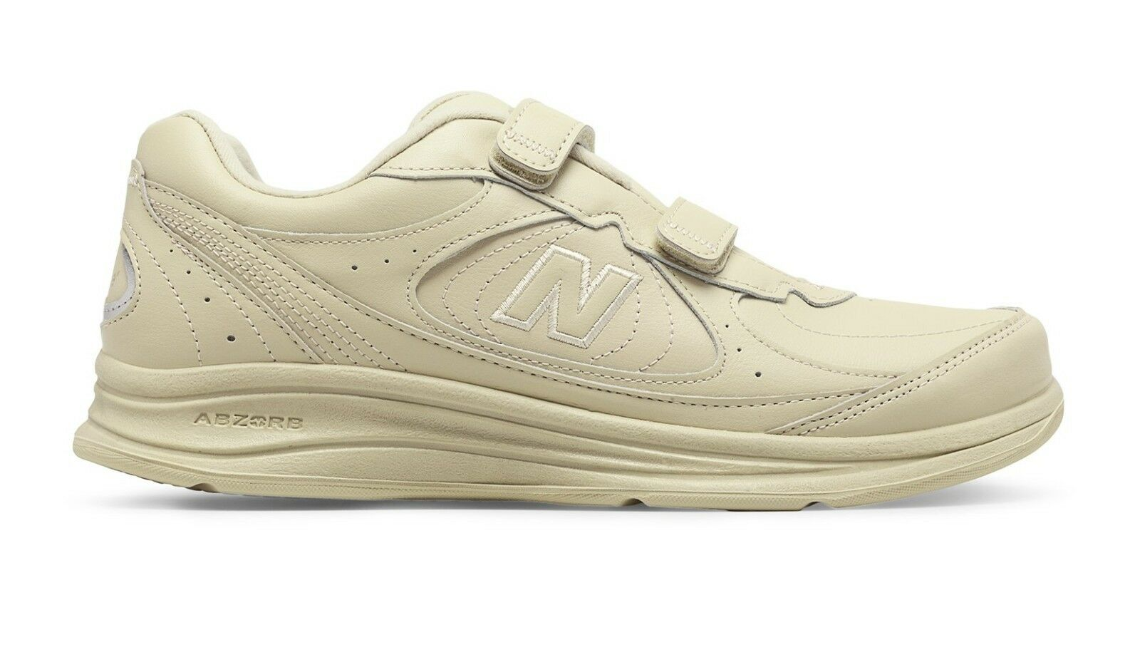 New Balance MW577VB Men's Hook and Loop 577 Bone Leather Walking shoes