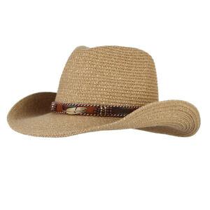 Cappello-da-sole-a-tesa-larga-unisex-stile-western-cow-cow-cowgirl