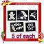 Kit-de-Tatuaje-Brillo-Navidad-o-plantillas-de-recarga miniatura 6