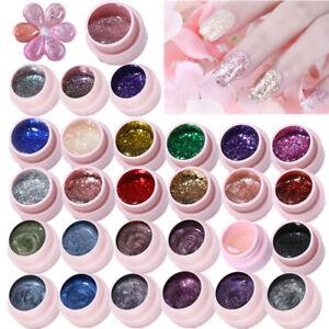 58-Colors-UR-SUGAR-Soak-Off-UV-Gel-Polish-Glitter-Sequins-Magnetic-Nail-Art-5ml