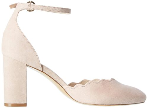 WOMENS PLUS SIZE 9 42 DUSTY PINK NUDE TRANSVESTITE CD DRAG ANKLE STRAP SHOES NEW