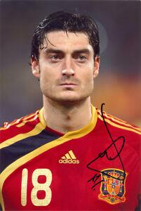 Details About Albert Riera Spain Liverpool Espanyol Bordeaux Signed 12x8 Inch Photo Coa