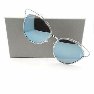 5b9f7c3d7da1 Christian Dior Sideral 2 JA6T7 Aqua Blue Mirror New Sunglasses ...