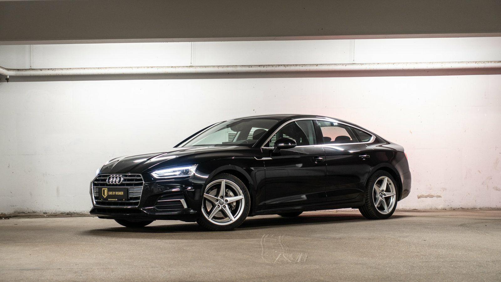 Audi A5 2,0 TDi 190 Sport SB S-tr. 5d - 463.000 kr.