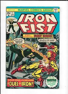 IRON-FIST-1-gt-FN-1ST-ISSUE-IN-HIS-OWN-SERIES-1975