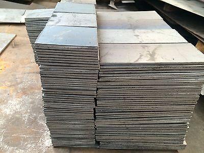 """5//8/"""" .625 HRO Steel Sheet Plate 6/"""" x 12/"""" Flat Bar A36 grade"""