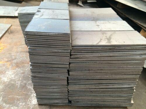 """1//2/"""" .500 HRO Steel Sheet Plate 6/"""" x 6/"""" Flat Bar A36"""