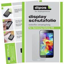 6x Samsung Galaxy S5 Schutzfolie matt Displayschutzfolie Antireflex Folie dipos