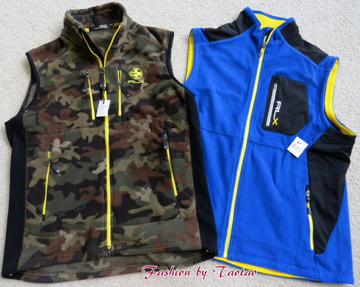New w Tag  RXL Ralph Lauren Men's Fleece Vest