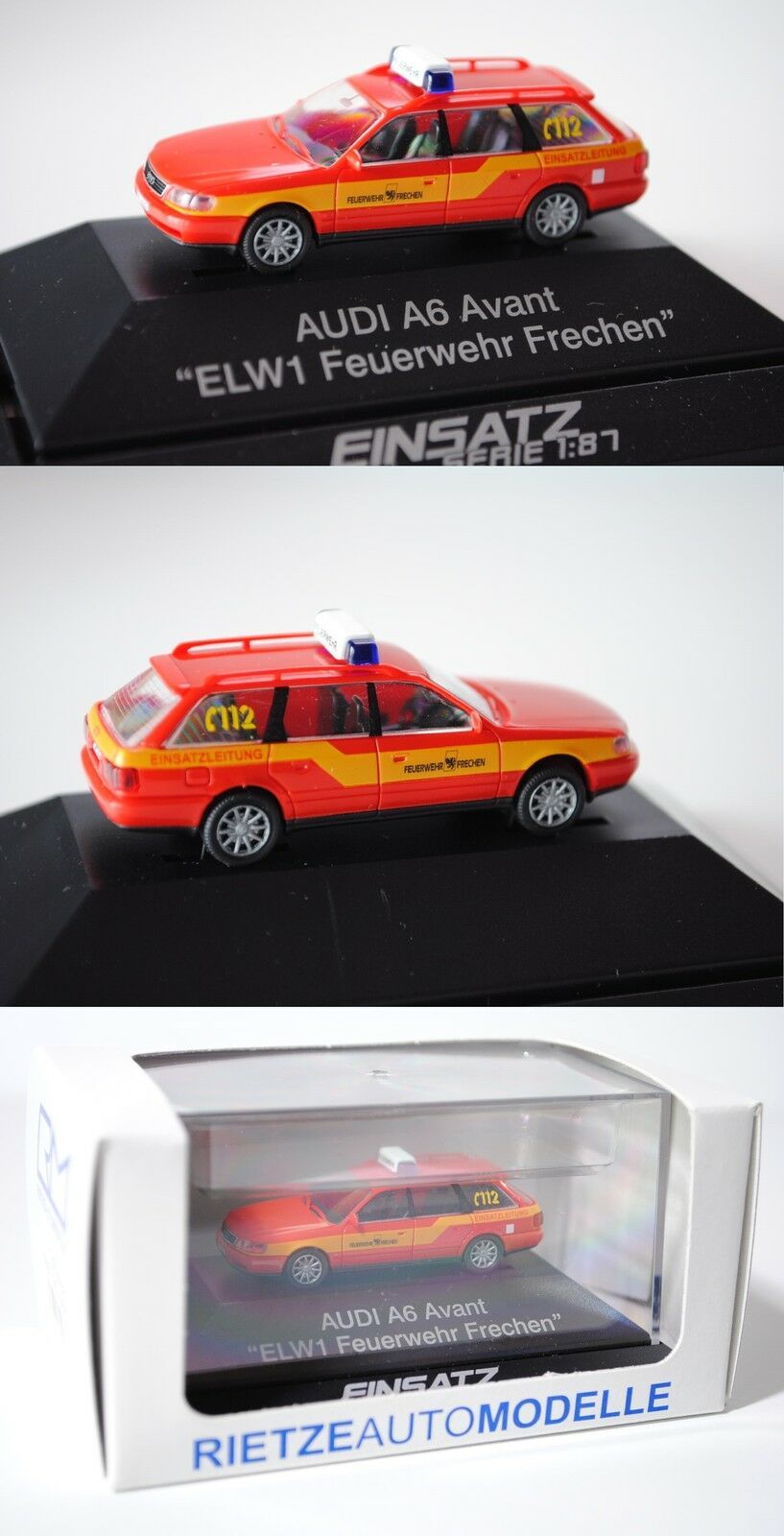 Rietze 50679 Audi A6 Avant Feuerwehr, Modell 1994, 1 1 1 87 ddde93