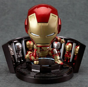 Nendoroid-Iron-Man-Figure-Mark-42-Hero-s-Edition-Armor-Marvel-Avengers-RARE