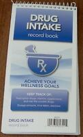 Drug Intake Record Book - Achieve Your Wellness Goals - Brand
