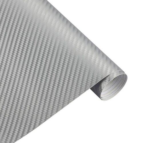 3D Carbon Auto Folie Blasenfrei Verklebung Luftkanäle 4,90€//m² §