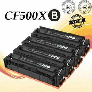 4-Pack-High-Yield-Black-Toner-for-HP-CF500X-202X-LaserJet-M254dw-M281cdw-M281fdw