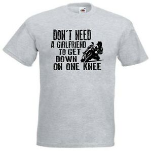 Dont Need A Girlfriend Funny Motorbike Motorcycle T Shirt Gift Idea