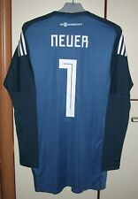 7b3e4bc71 Germany 2018 World Cup Goalkeeper football shirt jersey Trikot  1 Neuer  size L