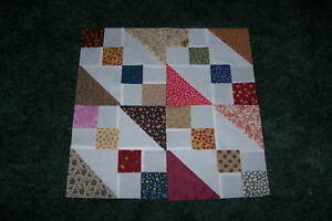 4-Patch-Quilt-Block-Top-Variation-of-Four-Patch