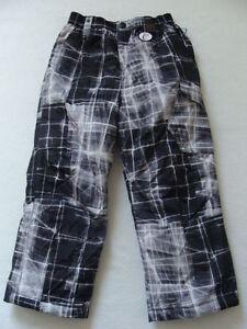 24768edba4c3 NWT Boys Zero XPosur Snow Pants Size 4 Black Ski Snowboard Winter ...