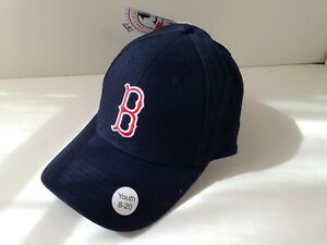 Major-League-Baseball-Cotton-Hat-Cap-Boston-RED-SOX-YOUTH-Size-8-20-NEW-NWT