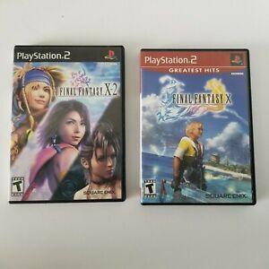 Playstation 2 Bundle: Final Fantasy X & X-2 - Complete