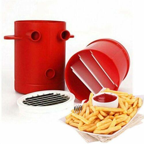 Home French Fries Maker Potato Chips Strip Slicer Chopper Chips Machine @@