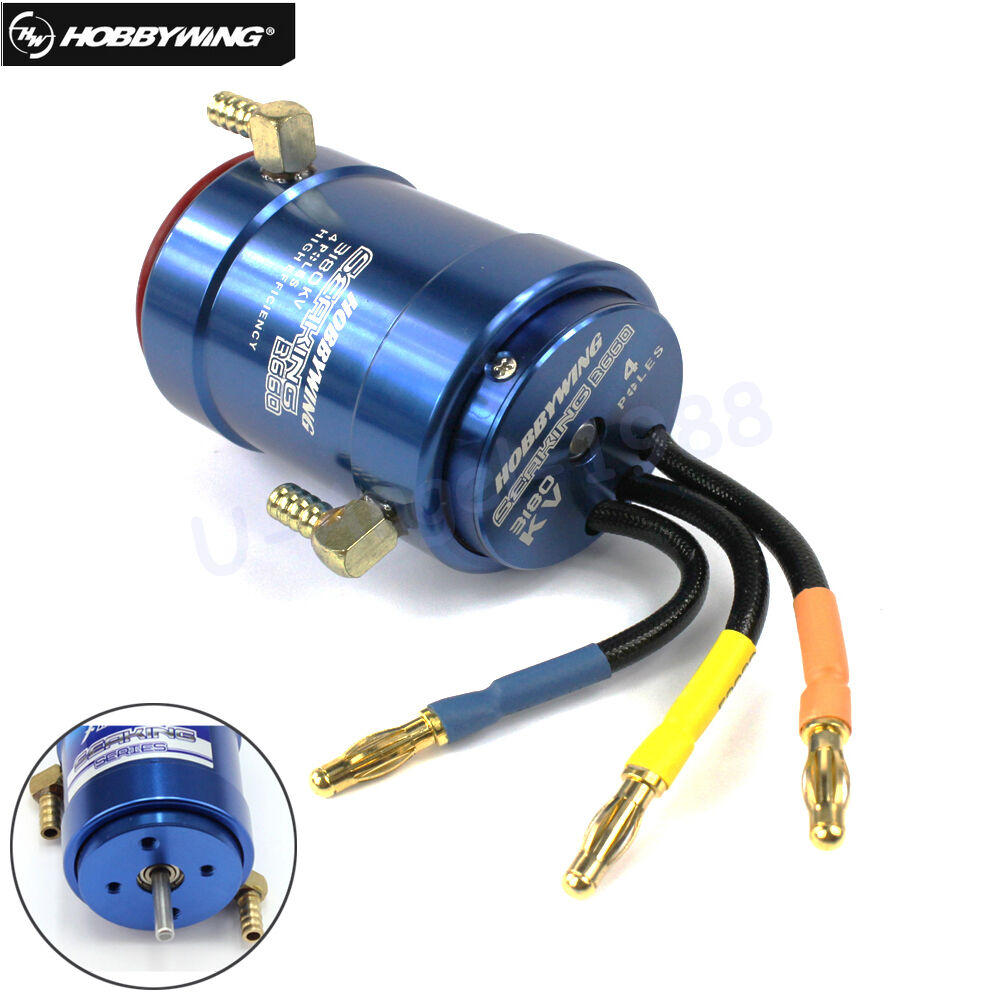 HOBBYWING SEAKING 2040SL 2848SL 3660SL Brushless Motor W Water-cooling for RC