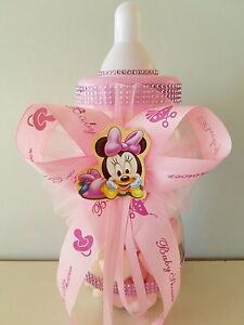 minnie mouse centerpiece bottle large 14 baby shower piggy bank girl