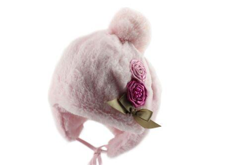 Jamiks Teresa Girls Warm Winter Pom Pom Beanie Hat (Clearance)