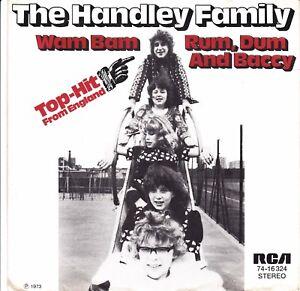 "7"" Single - The Handley Family – Wam Bam / Rum, Dum And Baccy - Marpingen, Deutschland - 7"" Single - The Handley Family – Wam Bam / Rum, Dum And Baccy - Marpingen, Deutschland"