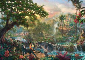 Schmidt-Puzzle-59473-1000-Teile-Thomas-Kinkade-Disney-Dschungelbuch