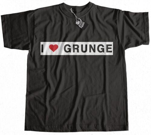 I Love Grunge Worn By Eddie Vedder T-Shirt 100/% Premium Cotton