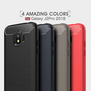 new arrival 50da4 538ef Details about For Samsung Galaxy Grand Prime Pro Carbon Fiber Brushed Soft  Rubber Case Cover