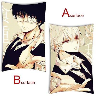 Hot Anime Tokyo Ghoul Ken Kaneki Dakimakura Bed Cushion Throw Pillow Case Cover