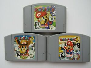 Details about Authentic Mario Party 1 2 3 Nintendo 64 N64 OEM Rare Video  Game Carts PICK GOOD!