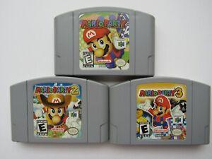 OEM-Mario-Party-1-2-3-Nintendo-64-N64-Authentic-Video-Game-Cart-Rare-Originals