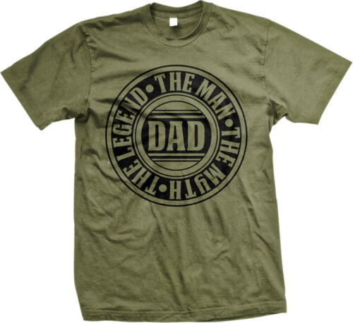The Man Myth Legend Dad Fathers Day Father Daddy Present Gift Idea Mens T-shirt