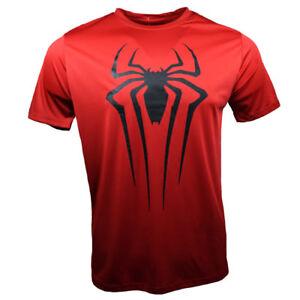 The-Amazing-SPIDER-MAN-2-Men-039-s-T-Shirt-MARVEL-COMICS-Spidey-RED-S-M-L-XL