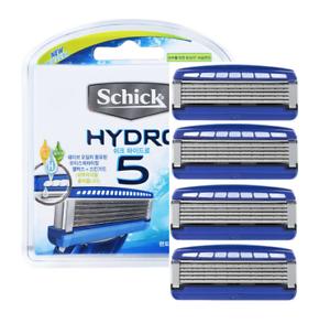 Schick-Hydro-5-PREMIUM-Razor-Blades-4-Refill-Cartridges
