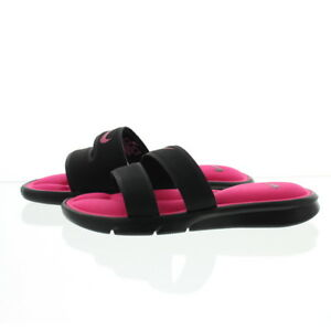 5e4463fe8 Image is loading Nike-882695-Womens-Ultra-Comfort-Footbed-Slide-Sandals-