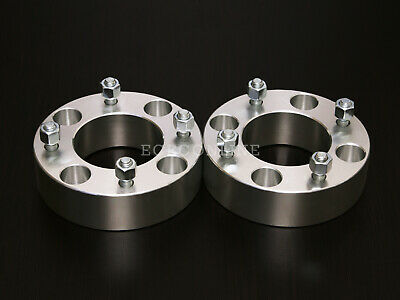 """4x110 ATV Wheel Spacers with 10x1.25 Studs//Nuts 4pc 2/"""" Thick"""