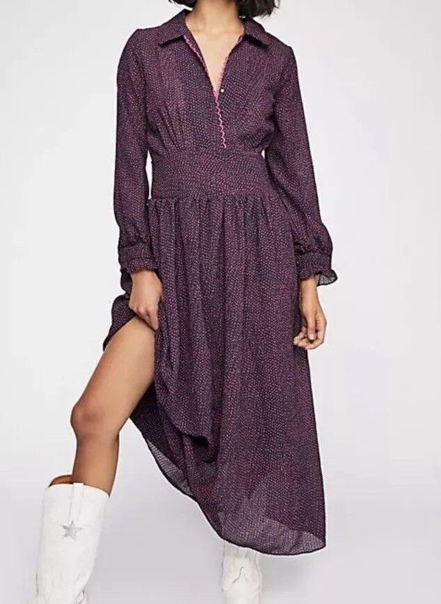 Style Mafia For Free People FIAMMA Maxi Dress Größe M New