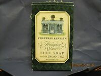 Vintage Crabtree & Evelyn Hungary Water Fine Soap Bar Large 7 Oz Unisex Box