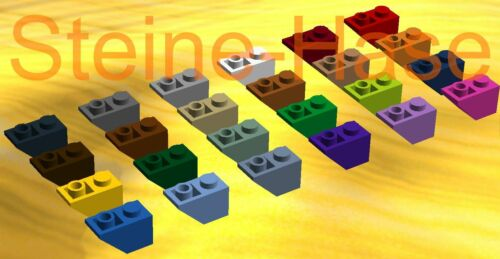 05103 LEGO® - 10x Dachsteine Schrägsteine 1x2 invers negativ (3665)