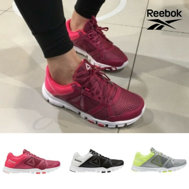 afb187bc20 Reebok Yourflex Trainette 10 MT Running Shoes Sneakers Black Red Grey  SZ4-12.5🔥