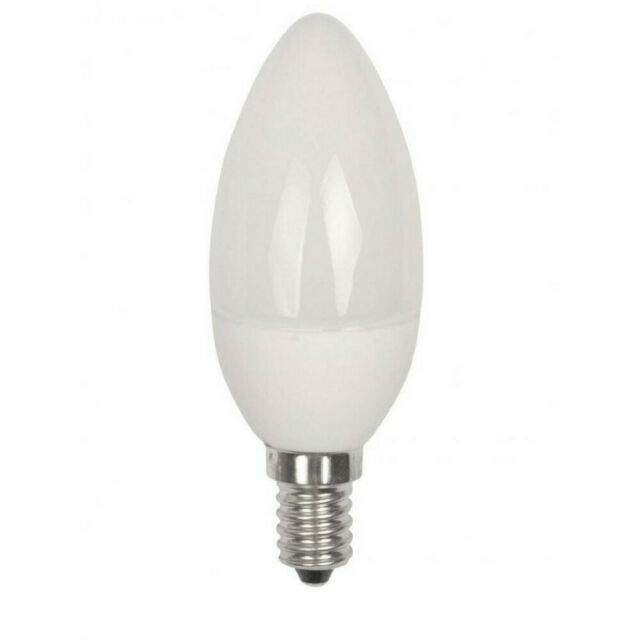 Ultrabrite 3W LED Candle Frosted Bulb in Warm White SES Screw Cap, A+ Energy