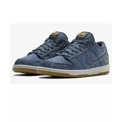 Nike SB Dunk Low TRD QS Rivals Pack East 883232 441 Size 11.5 Binary Blue Denim