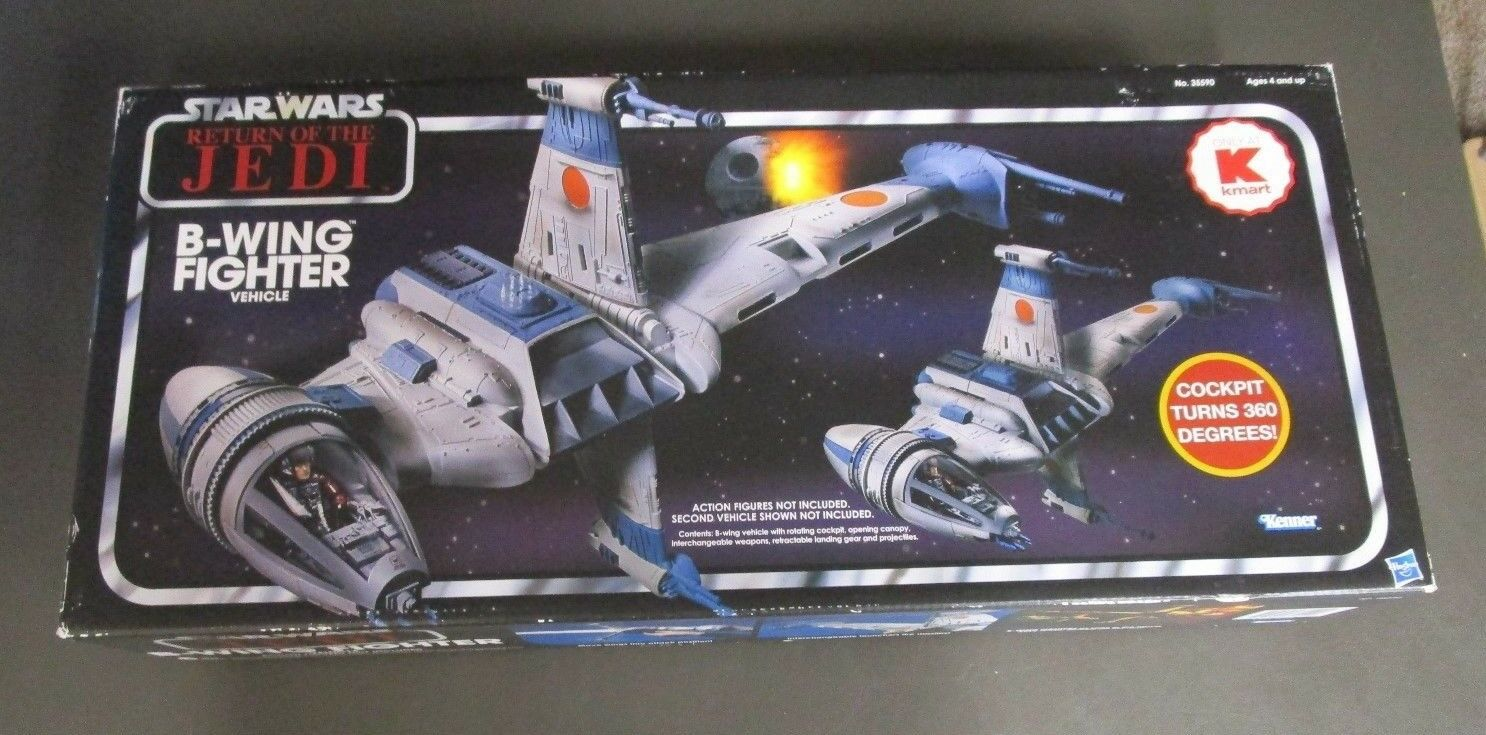 B-Wing Fighter 2011 STAR WARS Vintage Collection MIB K-Mart Exclusive